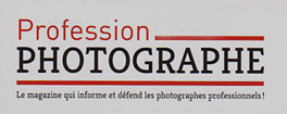 Profession Photographe